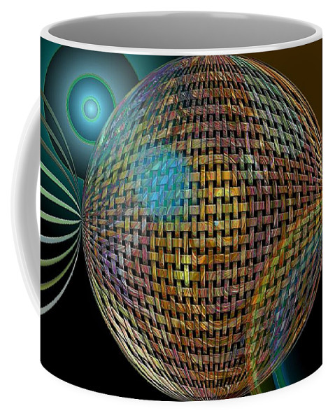Digital Art Coffee Mug featuring the photograph Abstraction by Jeff Swan