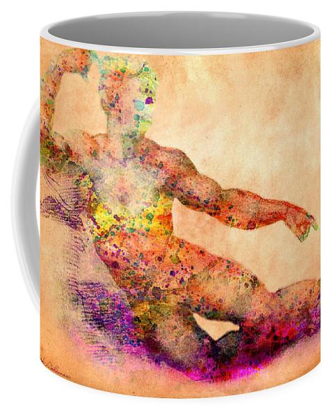 Michelangelo Coffee Mug featuring the photograph Adam by Mark Ashkenazi