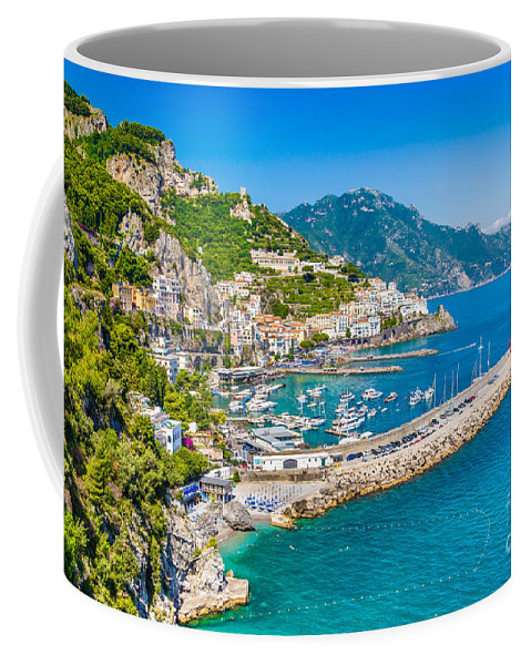 Amalfi Coffee Mug featuring the photograph Amalfi Coast by JR Photography