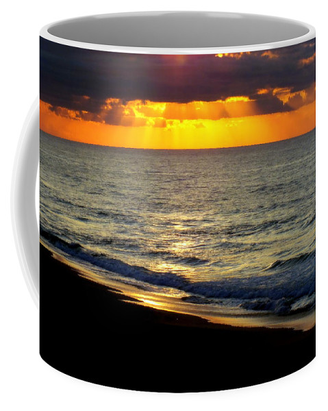 Topsail Island Coffee Mug featuring the photograph Amazing Grace by Karen Wiles
