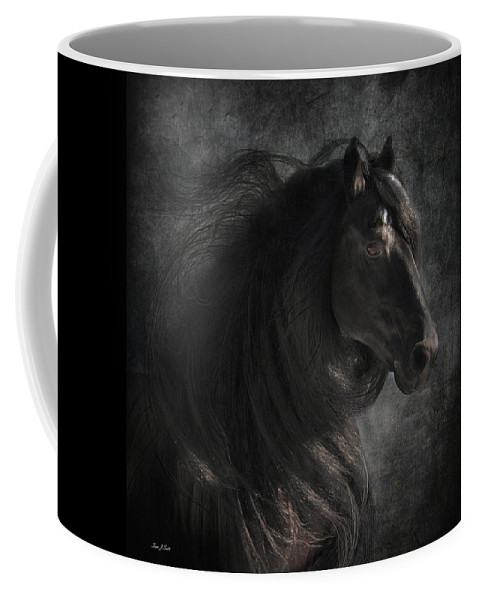 Coffee Mug featuring the digital art Anton 343 by Fran J Scott