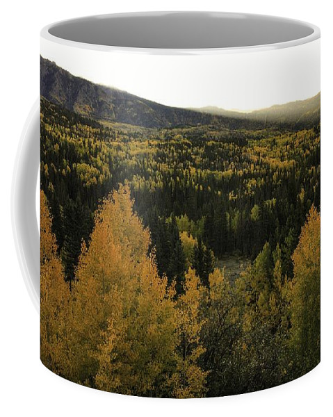 Landscape Coffee Mug featuring the photograph Autumn Sunrise by Bill Sherrell