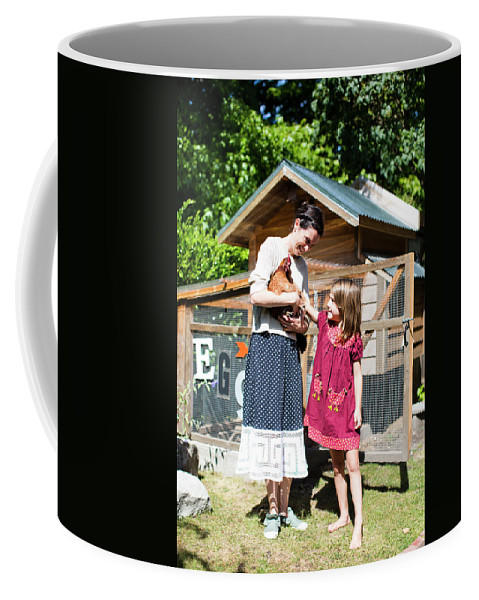 Color Image Coffee Mug featuring the photograph Backyard Coops Are Growing by Michael Hanson