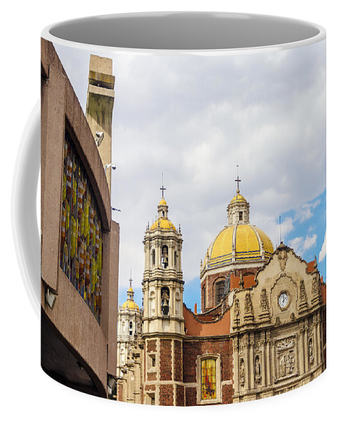 Mexico Coffee Mug featuring the photograph Basilica Of Our Lady Of Guadalupe by Jess Kraft