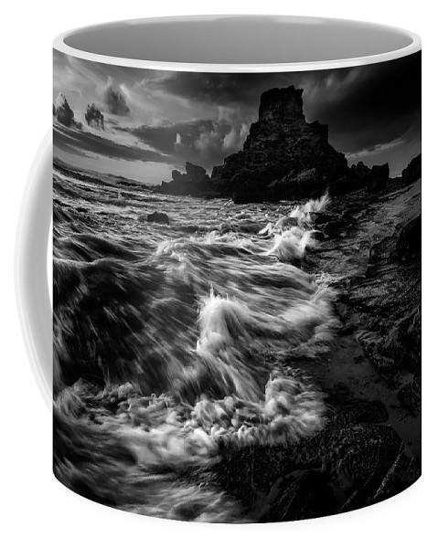 Beach Coffee Mug featuring the photograph Beach 25 by Ingrid Smith-Johnsen