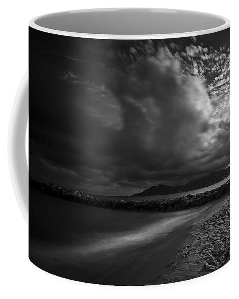 Beach Coffee Mug featuring the photograph Beach 37 by Ingrid Smith-Johnsen