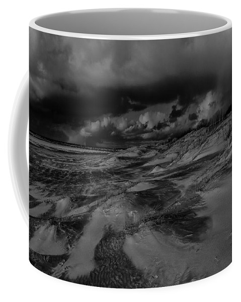 Beach Coffee Mug featuring the photograph Beach 1 by Ingrid Smith-Johnsen