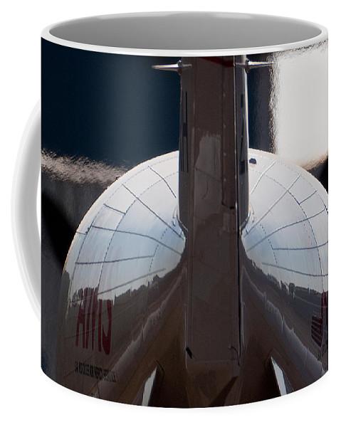 Ams Coffee Mug featuring the photograph Beautiful Lines by Paul Job