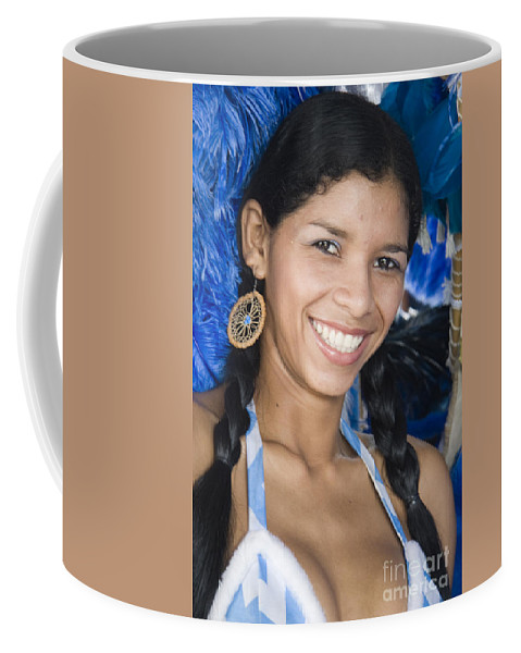 One Coffee Mug featuring the photograph Beautiful Women Of Brazil 12 by David Smith