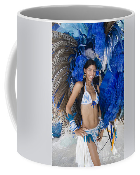One Coffee Mug featuring the photograph Beautiful Women Of Brazil 9 by David Smith