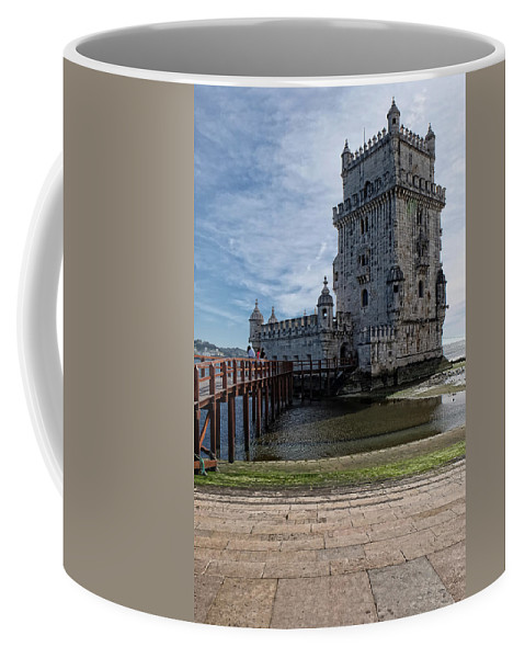 Lucinda Walter Coffee Mug featuring the photograph Belem Tower by Lucinda Walter