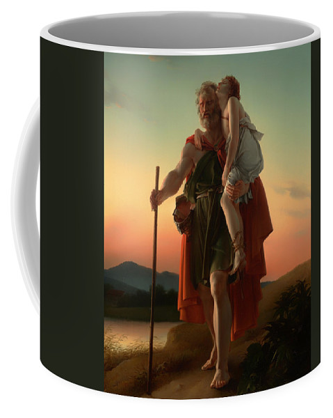 Painting Coffee Mug featuring the painting Belisarius by Mountain Dreams
