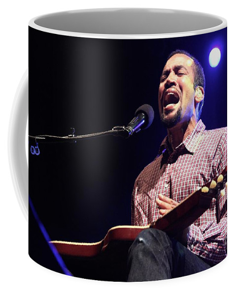 Musician Coffee Mug featuring the photograph Ben Harper by Concert Photos