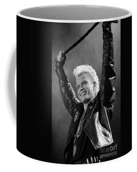 English Rock Musician Coffee Mug featuring the photograph Billy Idol by Concert Photos
