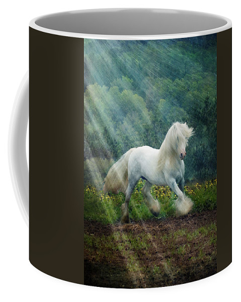 Horse Photographs Coffee Mug featuring the photograph Billy Rays by Fran J Scott