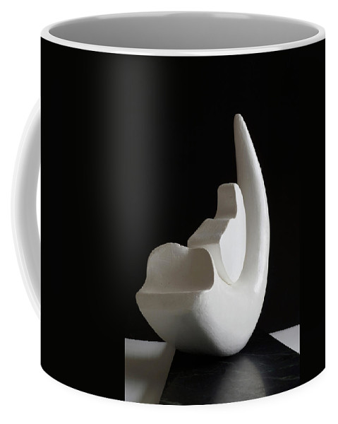 Birth Of A New Moon Coffee Mug featuring the photograph Birth Of A New Moon by Ernie Echols