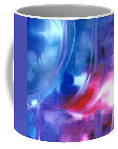 Lyle Coffee Mug featuring the painting Blue by Lord Frederick Lyle Morris - Disabled Veteran