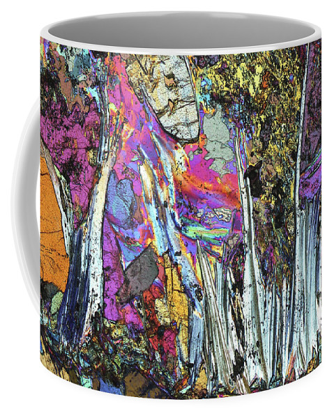 Aesthetic Coffee Mug featuring the photograph Blueschist by Bernardo Cesare