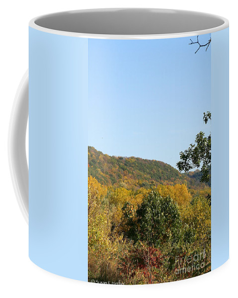 Flower Coffee Mug featuring the photograph Bluff by Susan Herber