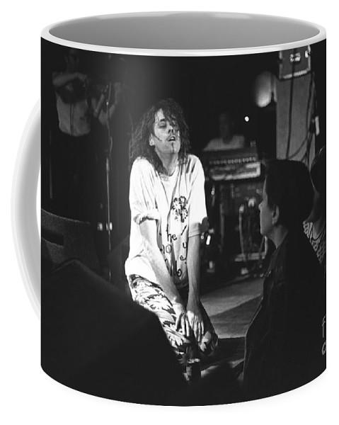 Singer Coffee Mug featuring the photograph Bob Geldof by Concert Photos