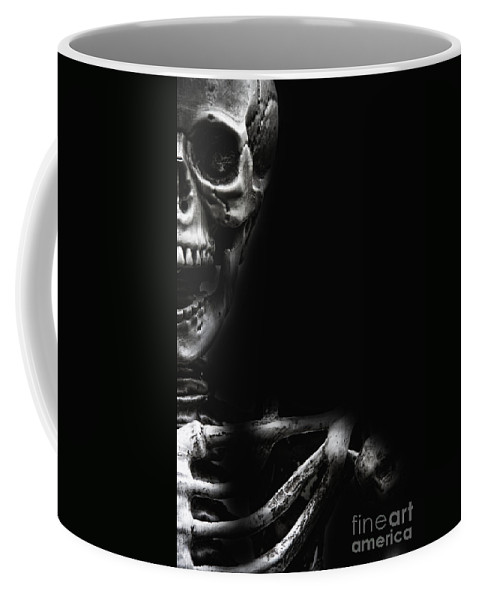 Atmosphere Coffee Mug featuring the photograph Bones by Margie Hurwich