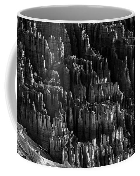 Adventure Coffee Mug featuring the photograph Bryce Canyon 18 by Ingrid Smith-Johnsen