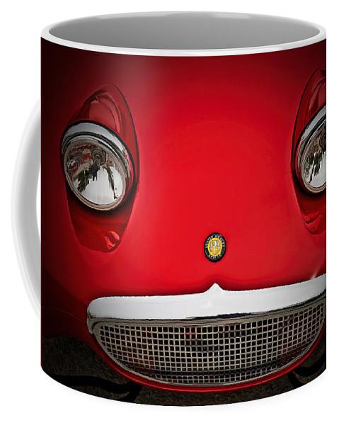 Vintage Coffee Mug featuring the digital art Bug Eyed Sprite by Douglas Pittman