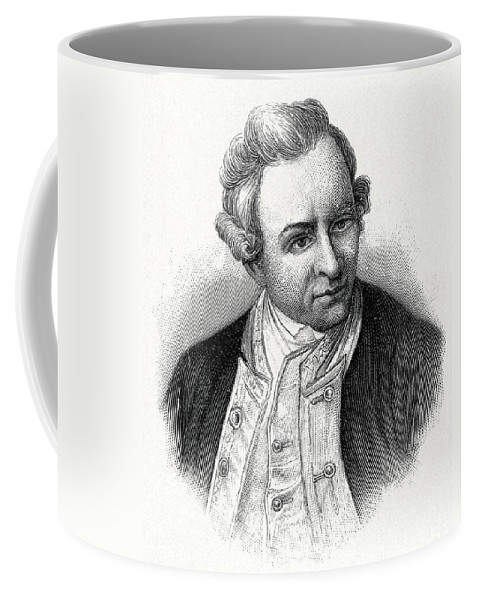 James Cook Coffee Mug featuring the photograph Captain James Cook, British Explorer by CCI Archives