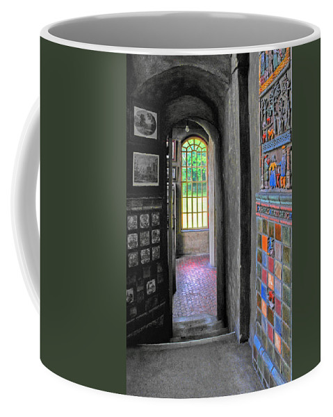Fonthill Castle Coffee Mug featuring the photograph Castle Passageway by Dave Mills