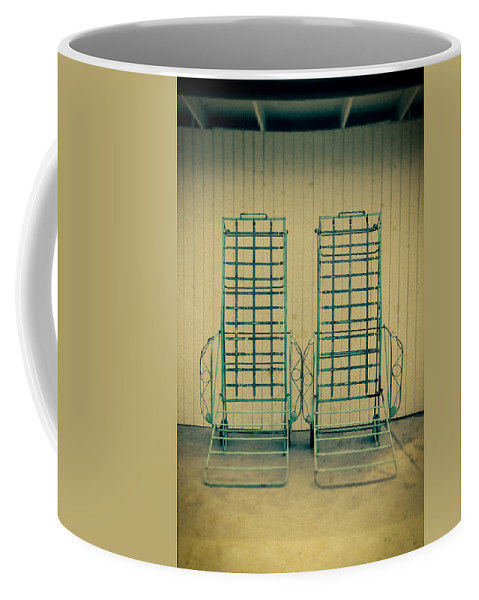 Personal Work Coffee Mug featuring the photograph Chaise Lounge by Yo Pedro