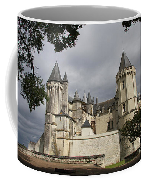 Castle Coffee Mug featuring the photograph Chateau Saumur by Christiane Schulze Art And Photography
