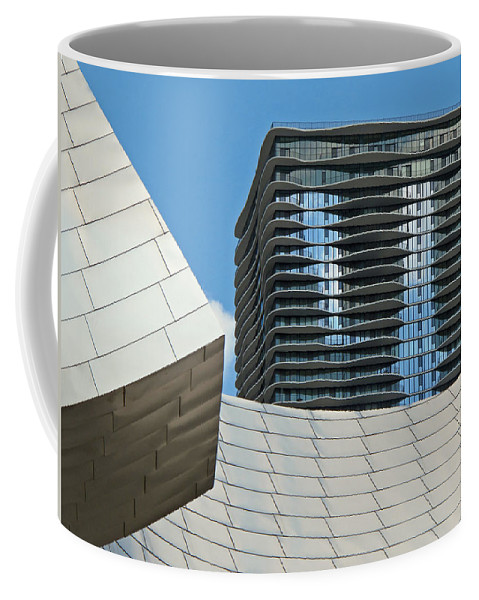 Chicago Coffee Mug featuring the photograph Chicago Architecture by Dave Mills
