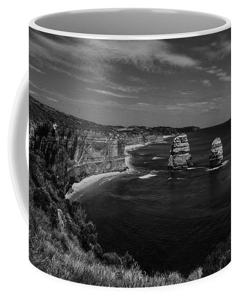 Bay Coffee Mug featuring the photograph Coast 9 by Ingrid Smith-Johnsen