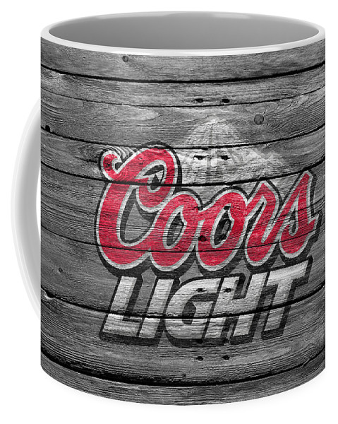 Coors Light Coffee Mug featuring the photograph Coors Light by Joe Hamilton