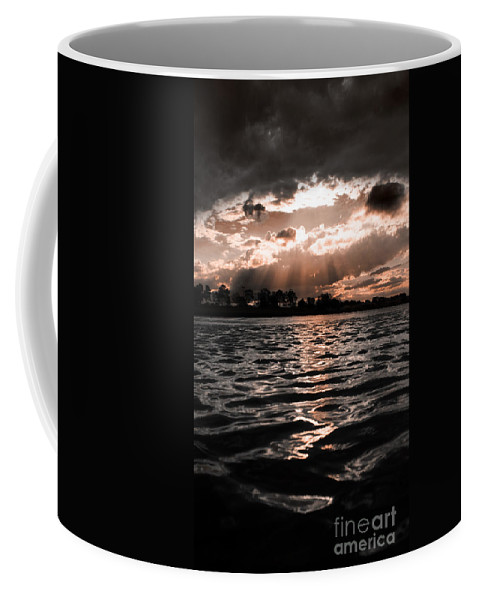 Atmospheric Coffee Mug featuring the photograph Dark Tranquility by Jorgo Photography - Wall Art Gallery