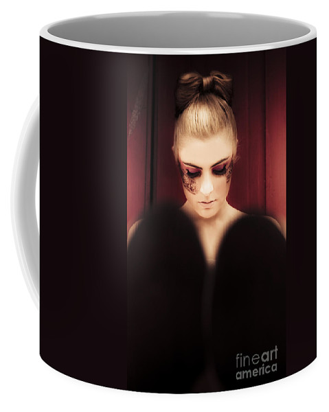 Blonde Coffee Mug featuring the photograph Doll by Jorgo Photography - Wall Art Gallery