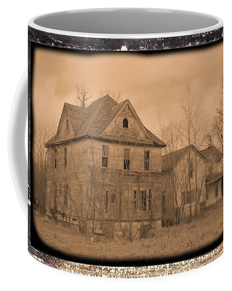 Rural Coffee Mug featuring the photograph Dual Abandonment by Bonfire Photography