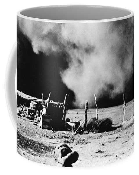 1935 Coffee Mug featuring the photograph Dust Bowl, 1935 by Granger