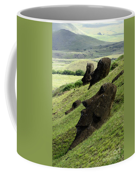 Easter Island Coffee Mug featuring the photograph Easter Island 17 by Bob Christopher