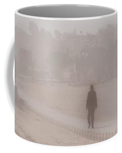 Egypt Coffee Mug featuring the digital art El Farafar Oasis by Carol Ailles