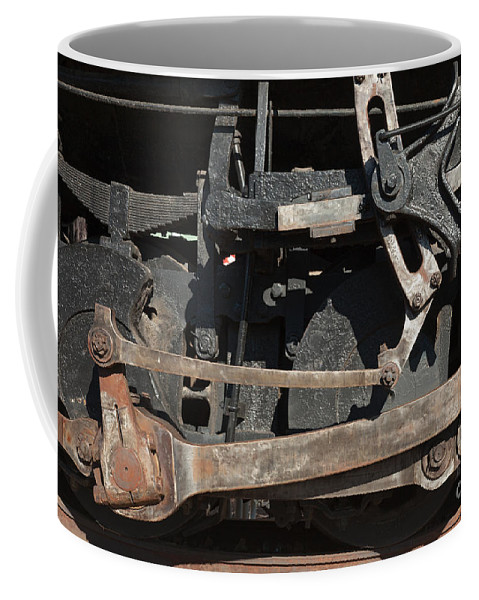 Colorado Coffee Mug featuring the photograph Engine 491 In The Colorado Railroad Museum by Fred Stearns