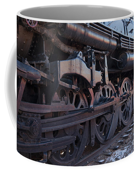 Colorado Coffee Mug featuring the photograph Engine 5629 In The Colorado Railroad Museum by Fred Stearns