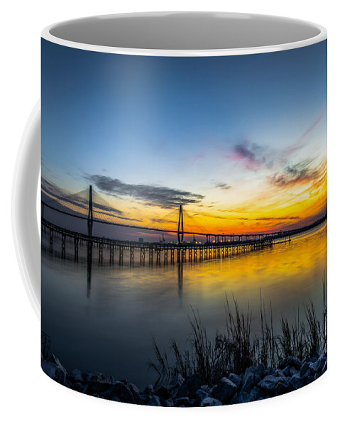 Sunset Coffee Mug featuring the photograph Evening Sky by Dale Powell