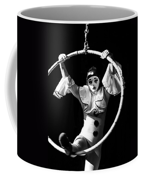 Mask Coffee Mug featuring the photograph Everyday Is A Challenge by Alfio Finocchiaro
