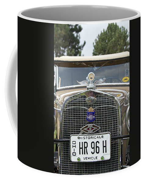 Antique Coffee Mug featuring the photograph Ford by Jack R Perry