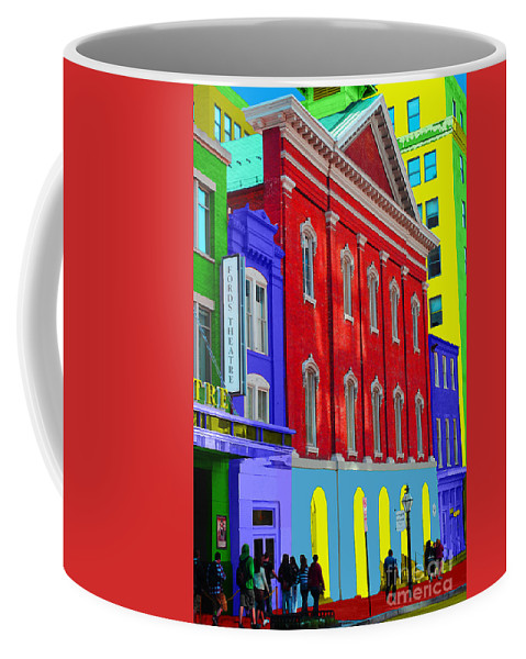Ford Coffee Mug featuring the photograph Fords Theatre by Jost Houk