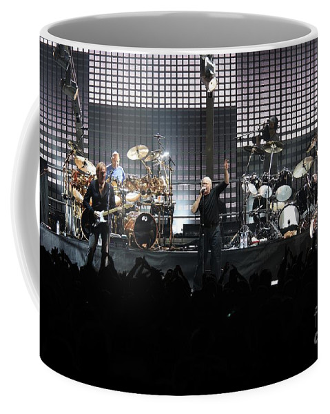 Crowd Coffee Mug featuring the photograph Genesis by Concert Photos