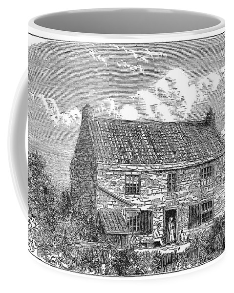 1881 Coffee Mug featuring the painting George Stephenson (1781-1848) by Granger