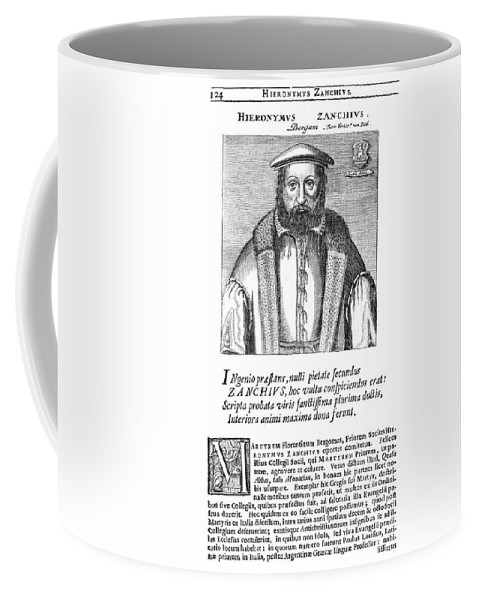 16th Century Coffee Mug featuring the painting Girolamo Zanchi (1516-1590) by Granger
