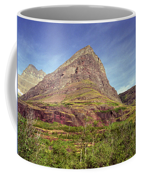 Glacier National Park Coffee Mug featuring the photograph Glacier National Park 1 by Lee Santa